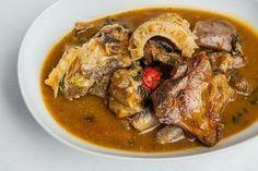 Nigerian Food, Pork, Meat, Kale Stir Fry, Pork Chops