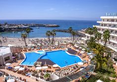costa adeje   Costa Adeje   Hovima La Pinta Tenerife, Costa, Dolores Park, Restaurant, Patio, Outdoor Decor, Travel, Home Decor, Hotels