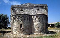 Serdiana, chiesa di Santa Maria di Sibiola: absidi