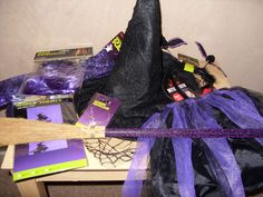 Halloween Treats from Poundland - Halloween Dress Up