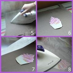 tuto transfert Transférer Des Photos, Decoupage, Diy Vetement, Techniques Couture, Home Staging, Mode Style, Helpful Hints, Diy And Crafts, Scrap