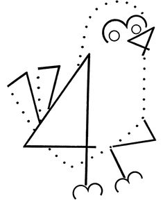 Preschool Connect The Dots - Coloring Home Teaching Kindergarten, Preschool, Do A Dot, Spring Theme, Connect The Dots, Color Activities, Everyday Objects, Winter Time, Coloring Pages For Kids