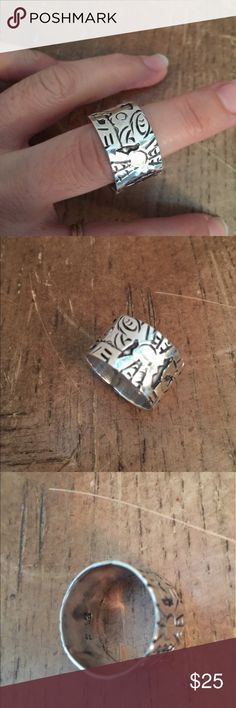 Ring Sterling silver solid 925 Mexico Ring Sterling silver solid 925 Mexico Jewelry Rings