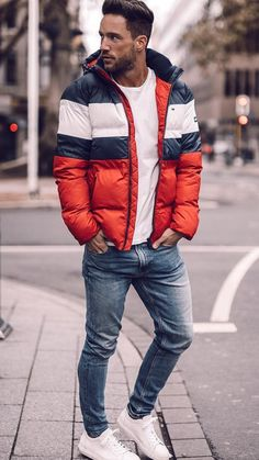 winter outfits men 5 coolest winter outfits for me - winteroutfits Best Winter Outfits Men, Winter Fashion Outfits, Winter Outfit For Men, Men Winter Fashion, Mens Winter Coat, Winter Wear, Winter Hats, Outfit Hombre Casual, Cool Winter