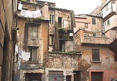 Rome's Jewish Ghetto claims to be one of the oldest and dates from the late 2nd century B.C. when slaves were brought over from Palestine under Roman rule.