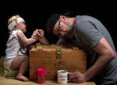 Love his style and humor. Hilarious Dad Takes Creative Photos with His Daughter!