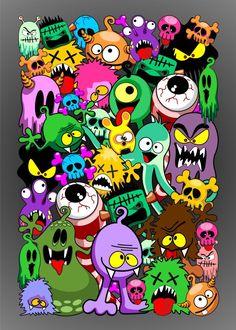 Graffiti Wallpaper Iphone, Wallpaper Doodle, Cartoon Wallpaper, Graffiti Doodles, Graffiti Drawing, Graffiti Art, Doodle Art Drawing, Art Drawings, Desenho New School