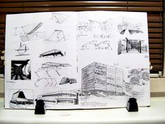 architecture  sketch out of my sketchbook