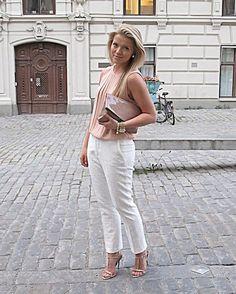 Peachy white (by Linda Juhola) http://lookbook.nu/look/3693741-Peachy-white