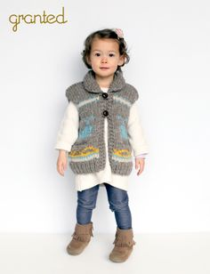 Kids Whale Vest by Granted Clothing, Vancouver, BC Cute Fashion, Kids Fashion, Kids Vest, Little Fashionista, Fall Winter 2015, Baby Knitting, Outerwear Jackets, Toddler Girl, Whale
