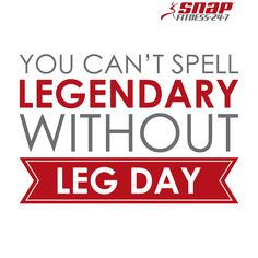 Leg workouts stimulate some of the largest muscles in your body! This creates a metabolic state that helps with all around muscle growth.