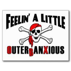 Feelin' a Little Outerbanxious! ~ OBX Beach Gear