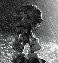 Estar bajo la  lluvia  es dificil ,  sin el amor de tu vida a tu lado