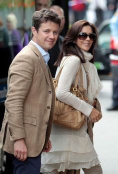 Crown Prince Frederik & Crown Princess Mary.... both of them look so beautiful