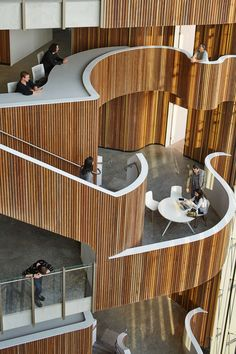 Designed by HDR | Rice Daubney, HDR's Sydney design studio, the Australian Novartis head office brings together associates from across Alcon, Novartis Pharma...