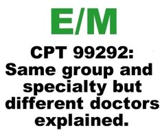Problems Getting Paid For Critical Care E Code 99292 Explained
