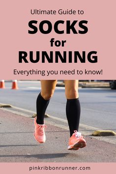Running socks are the second most important run gear you own, next to running shoes. This guide on pinkribbonrunner .com will help you choose your perfect pair of running socks. Tabata Workouts, Strength Training Workouts, Running Workouts, Running Half Marathons, Marathon Running, Cross Training For Runners, Running Plan, Prenatal Workout, Learn To Run