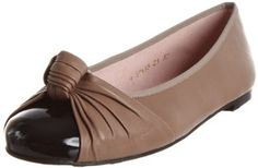Pretty Ballerinas Womens 38734 -Shade Negro Coton Drome Patent Beige Leather Ballet 38734 3 UK: Amazon.co.uk: Shoes & Bags