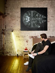 Star Wars . Millennium Falcon IXXI. Create your own IXXI space ship at www.ixxidesign.com/starwars   #IXXI #ixxidesign #home #inspiration #StarWars #design #StarWarsbyixxi #TheForceAwakens #MilleniumFalcon #interior