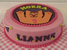 Dikkie dik taart / cake / meisje