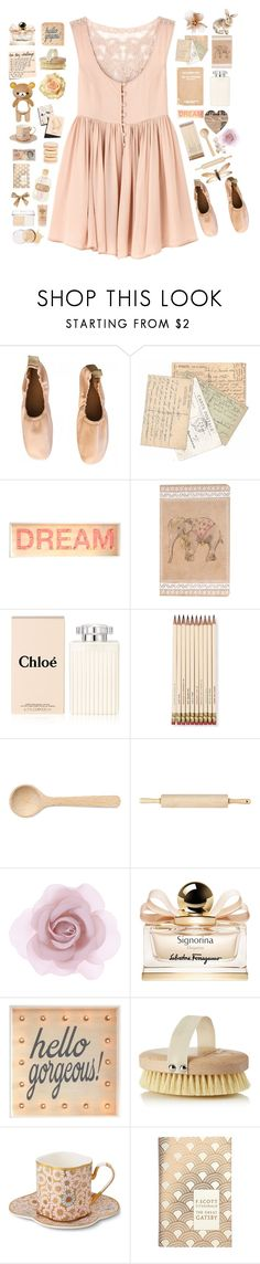 """""""And supergirls just fly..."""" by iesie ❤ liked on Polyvore featuring Miss Selfridge, Chloé, Kate Spade, HAY, J.K. Adams, Accessorize, Salvatore Ferragamo, Aromatherapy Associates, CeCe and Garance Doré"""