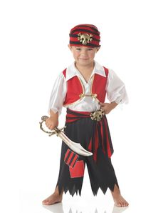 """""""Pirate"""" Ahoy Matey Toddler Costume"""
