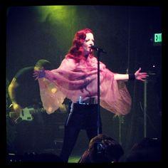 Shirley Manson. Fierce! #garbagetour | Garbage Instagrams | official garbage band instagram site