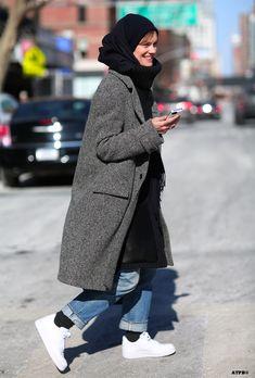 Jo Ellison Street Style