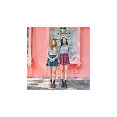 Plaid A-Line Mini Pleat Skirt ($37) ❤ liked on Polyvore featuring skirts, mini skirts, women, pleated mini skirt, a line skirt, pleated skirt, tartan plaid mini skirt and plaid skirt