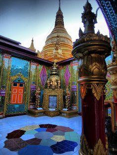 Guiddoo World Travel Beautiful Architecture, Beautiful Buildings, Qi Gong, Myanmar Travel, Burma Myanmar, Laos, Places To Travel, Places To See, Places Around The World