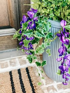 Tutorial on how to arrange and use artificial flowers and plants in outdoor planters. #ABlissfulNest #gardening #outdoorplanters Faux Outdoor Plants, Fake Potted Plants, Artificial Flowers And Plants, Outdoor Flowers, Outdoor Planters, Faux Plants, Flower Planters, Window Box Flowers, Shade Flowers