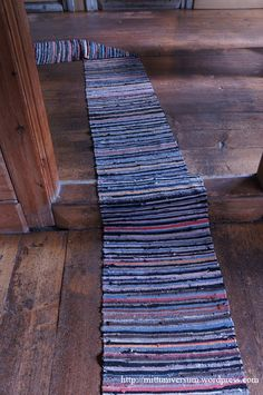 Trasmatta Blue Rugs, Bohemian Rug, Weaving, Rag Rugs, Carpets, Inspiration, Home Decor, Google, Farmhouse Rugs