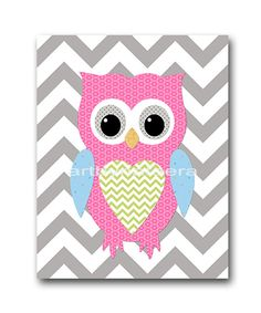 Owl+Decor+Owl+Nursery+Baby+Girl+Nursery+Decor+Baby+door+artbynataera,+$14.00
