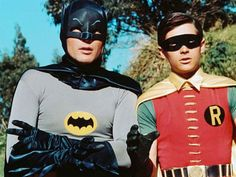 Batman (1966-1968) The ludicrously straightlaced Caped Crusader battles evil in this parody of the comics.