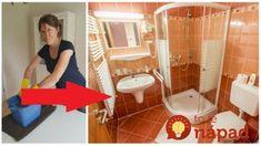 Nestojí ani Euro a do gruntu dá celú kúpeľňu: Aj sprcháč, s ktorým ste to už chceli vzdať je po tomto ako nový! Home Hacks, Clean House, Cleaning, Cabinet, Storage, Furniture, Home Decor, Euro, Tips