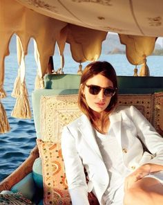 Cameron Russell for J.Crew June Style Guide- Cameron Russell, J Crew Style, Style Me, Womens Boyfriend Blazer, Vogue, Summer 2014, Designer Collection, Style Guides, Editorial Fashion
