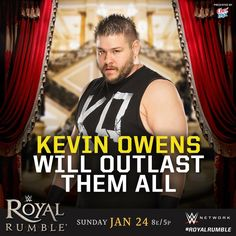 WWE Royal Rumble 2016: Kevin Owens will outlast them all.