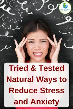 Discover effective natural ways to reduce stress and anxiety. These 9 tips can help you manage stress and anxiety naturally. via @wellnesscarol