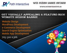 Path Interactive is top-rated web design Barrie & website development company offering website design, WordPress development, Graphic design, and SEO services at affordable prices.