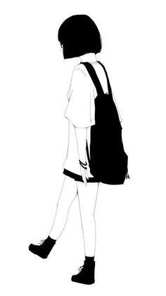 Art Aesthetic Drawings Girl Ideas For 2019 Aesthetic Drawing, Aesthetic Art, Aesthetic Anime, Kawaii Anime Girl, Anime Art Girl, Art Drawings Sketches, Cute Drawings, 5 Anime, Sad Art