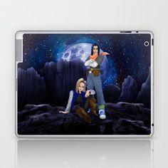 Twin cyborg Laptop & iPad Skin @pointsalestore @society6thresecond #laptop #ipadskin #Drawing #Digital #Inkpen #Coloredpencil #Comics #Cartoons #Cyborg18 #Cyborg19 #Dragonball #Dragonballsuper #Vegeta #Sungoku #Shenlong #Shenron #Manga #Kids #Retro #Dbz #Scifi #Halloween #Capsulecorps