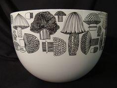 '60's Kaj Franck Mushroom Bowl by Arabia #Nowl #Mushroom #Kaj_Franck #Arabia