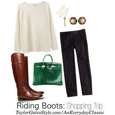 How To Wear Them: Riding Boots