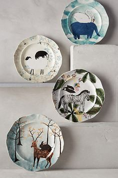 Cute Dessert Plates from Anthro