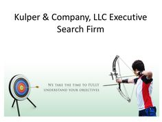 KULPER & COMPANY is a best executive recruiting firms nj. We have years of experience of recruiting the right candidates for organization, institution or Not for Profit organization who can help you grow and develop.
