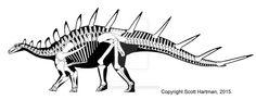 Kentrosaurus.
