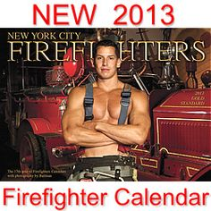 """2013 NYC FIREFIGHTERS CALENDAR  Just $15.95!  Featuring REAL NYC firefighters! Each year the New York City Firefighters Calendar is one of the nation's most anticipated calendars. This year's calendar features an all-new crew of stunning photographs of actual New York firefighters. This NYC firefighter's calendar captures the pride of New York's """"Bravest"""".   This is the 17th year that Batman Studios is producing an NY FD Calendar.    As seen on Kathie Lee & Hoda (NBC)."""