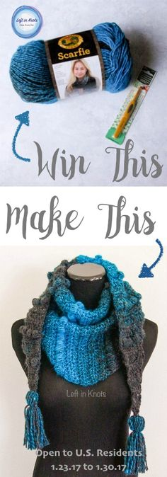 It's giveaway time! Each month this year I am going to be giving away the yarn and hook to make one of my popular free crochet patterns. January = Puffs Mod Scarf :) This giveaway is open to U.S. Residents and runs from 1/23/17 to 1/30/17. I TRULY appreciate all of my followers, but at this time international shipping is cost prohibitive. As my blog grows I hope to change that :)