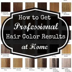 Step by step guide to buying and using professional hair color products to use at home.  http://getyourprettyon.com/beauty-buzz-professional-at-home-hair-color/