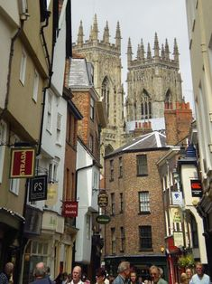 The western end of the York Minster in the magical, medieval city of York, North Yorkshire. There is so much to do in York you wouldn't believe it. Here is my must-do list for York, as detailed in my green spiral book of crazy carefully detailed Trip...